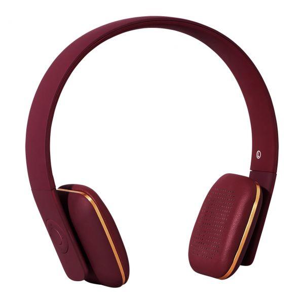 Kopfhörer aHead von Kreafunk, bordeaux