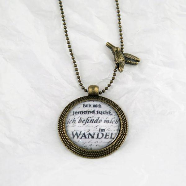 Medaillon-Halskette Wandel