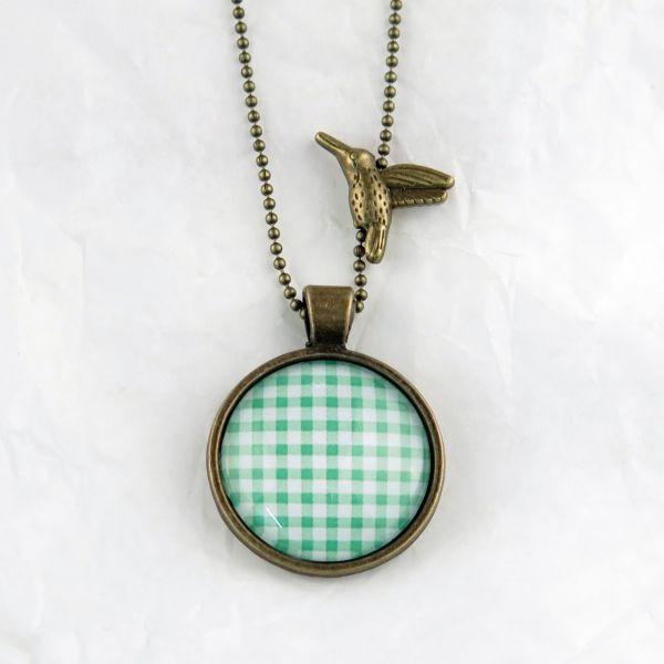 Medaillon-Halskette